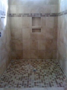 Shower  (Installed by Flooring Services)