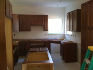 Carol\'s Home kitchen cabinets