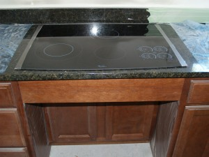 Kitchen Whirlpool Stovetop